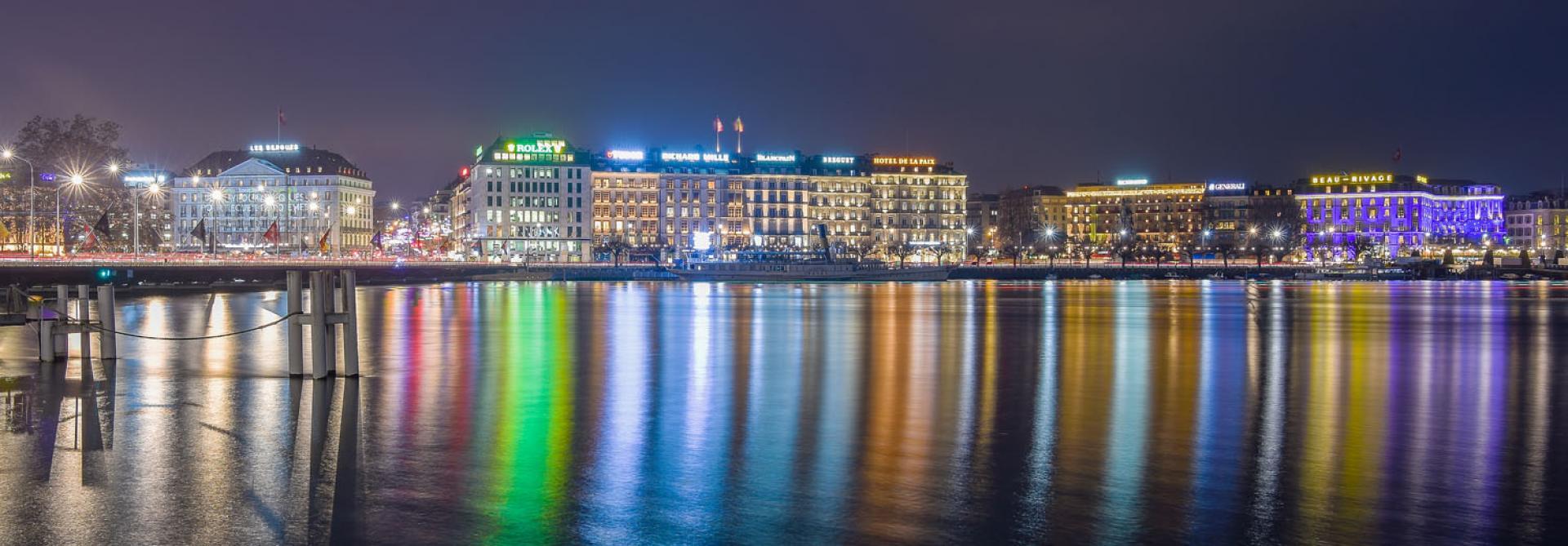La nuit est belle in Geneva