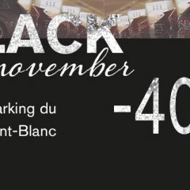 Black November : <br> – 40% sur vos campagnes <br> F4 et écrans