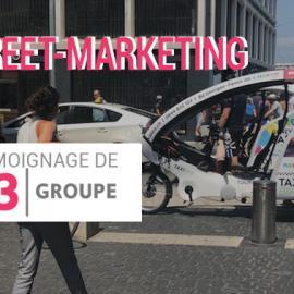 Faites la différence <br> avec le street-marketing